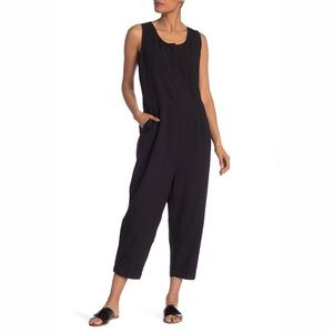 Eileen Fisher Sleeveless Pleated Jumpsuit